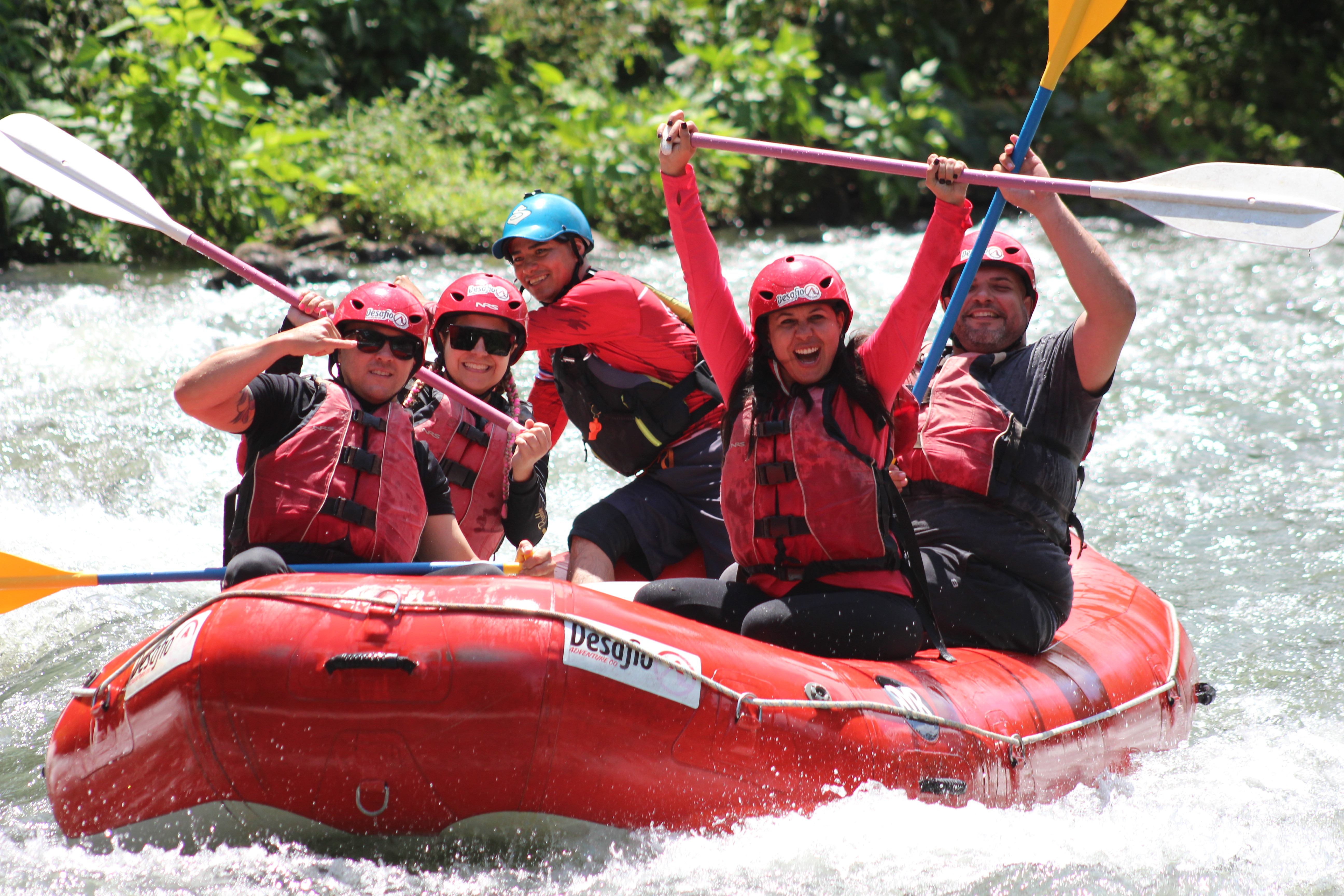 San Jose toLa Fortuna Arenal FULL White Water Rafting Class 3 and 4-Go extreme on your Costa Rica vacation!