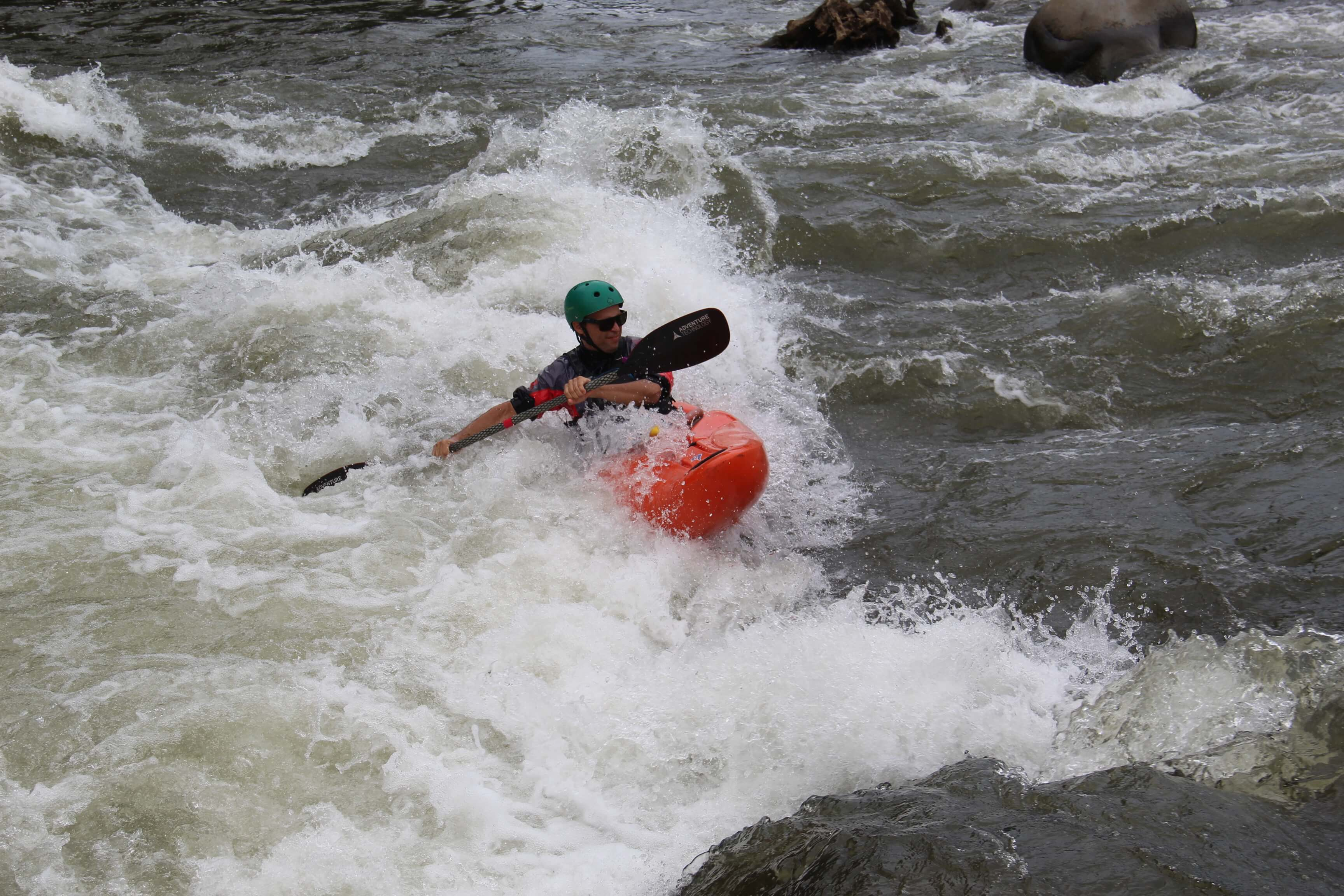 So much fun rafting on the Class 2 and 3 Sarapiqui River with Desafio Adventure Company.