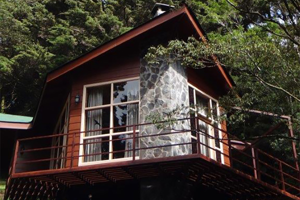 Superior Cabins are perfect for romantic getaways and feature split levels and fireplaces.
