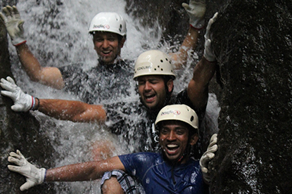 Experience water like never before in the Lost Canyon.