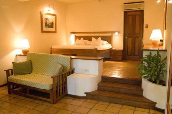 Comfortable lodging at Capitan Suizo in Tamarindo.
