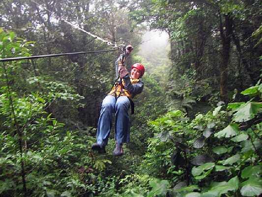 Ziplining in Monteverde, Costa Rica!