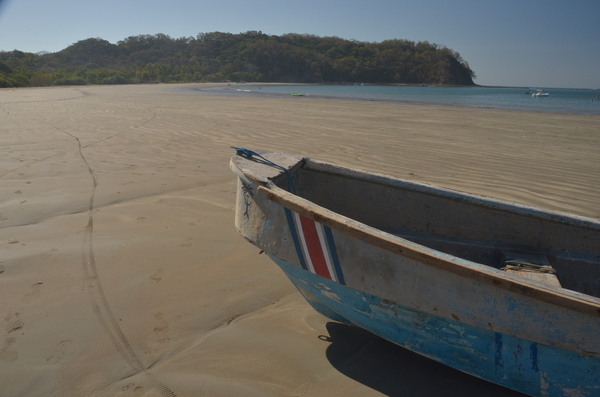 Samara beach is just a few steps away from the Hideaway hotel in Samara, Costa Rica.