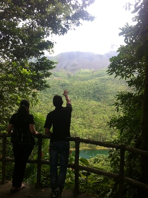 Amazing views for the look-out point at Hotel Los Lagos at the base of the Arenal Volcano in Costa Rica. Desafio can take care of all of your hotel, tour and transportation needs in Costa Rica.