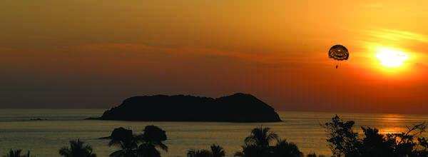 Sunset from San bada Hotel Manuel Antonio Costa Rica.