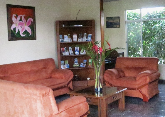 A great place to relax after a day of activities at Hotel San Bosco, the perfect place for a budget friendly vacation in La Fortuna. Arenal!