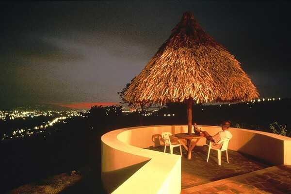 Amazing views from Hotel Xandari balconies.