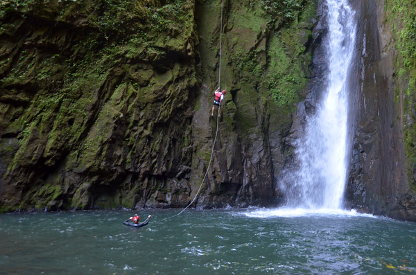 Gravity Falls Waterfall Jumping: Costa Ricas Most Extreme Tour!