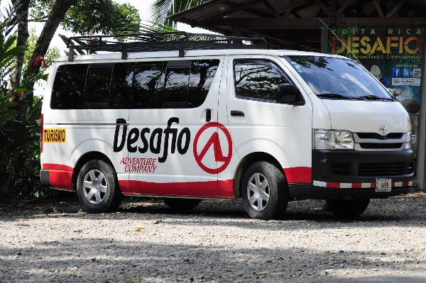 Count on Desafio for private airport transportation, with free WiFi, to/from San Jose SJO to La Fortuna, Arenal - or anywhere in Costa Rica!