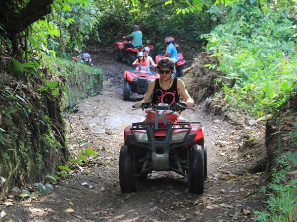 ATV riding near the Arenal Volcano!