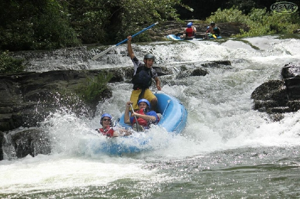 Get your adrenaline pumping with this exciting white water rafting