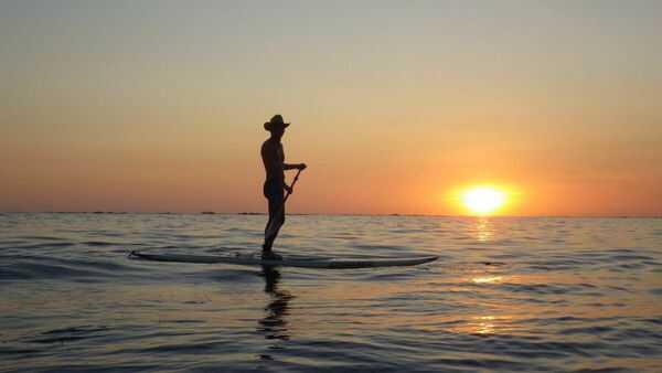 Samara Beach has the best sunsets.