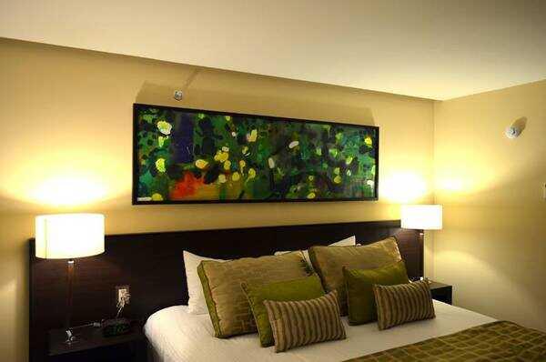 The Studio San Jose Hotel has premium linens and comfortable beds.