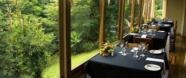 Even the dining room features huge windows to allow you to enjoy as much wildlife and bird viewing as possible!