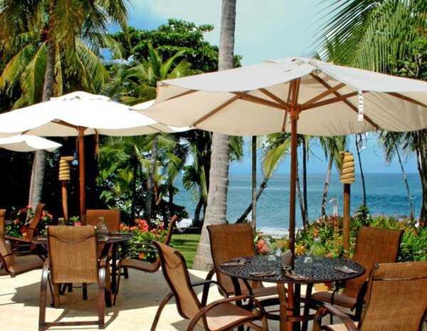 Sit and enjoy the Pacific Ocean at Ylang Ylang Beach Resort.