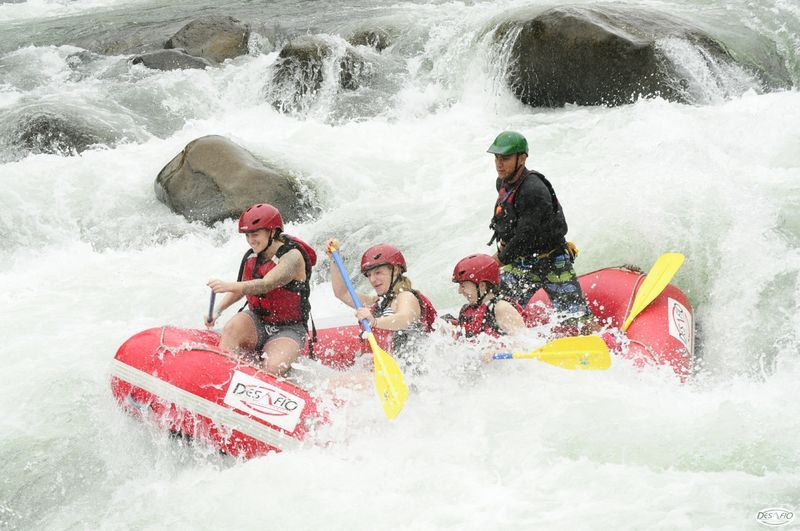 White Water Rafting in Arenal, Costa Rica