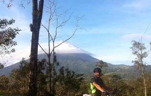mountain biking, La Fortuna, Costa Rica, adventure, Arenal Volcano